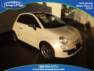 2012 FIAT 500 Lounge Hatchback