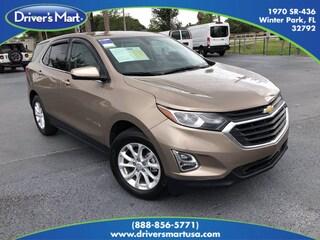 Used Vehicle for sale 2018 Chevrolet Equinox LT w/1LT SUV in Winter Park near Sanford FL
