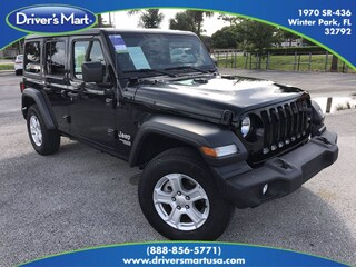 Used Vehicles for sale 2020 Jeep Wrangler Unlimited Sport Convertible in Winter Park, FL