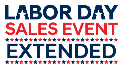 Labor Day Sales Event Extended