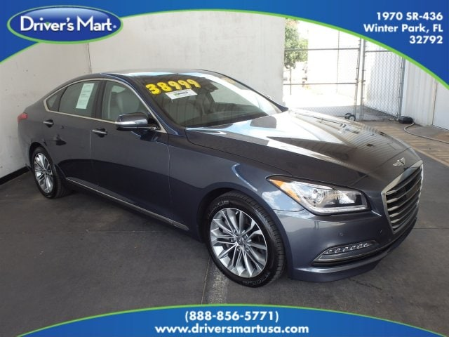 Used 2017 Genesis G80 3.8 Sedan Winter Park