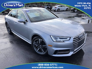 Used Vehicle for sale 2018 Audi A4 2.0T Premium Sedan in Winter Park near Sanford FL