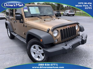 Used Vehicle for sale 2015 Jeep Wrangler Unlimited Sport 4x4 Convertible in Winter Park near Sanford FL