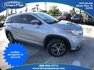 Used Vehicle for sale 2016 Toyota Highlander XLE V6 SUV in Winter Park near Sanford FL