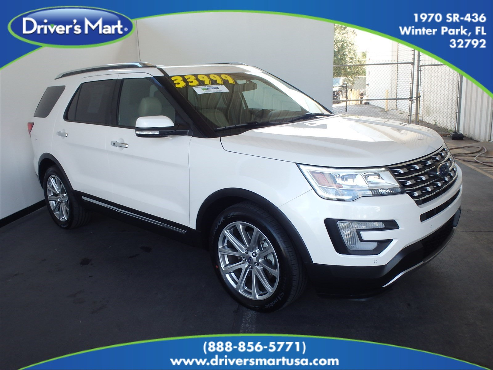 Used 2017 Ford Explorer Limited SUV Winter Park