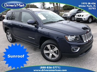 Used Vehicle for sale 2016 Jeep Compass Latitude 4x4 SUV in Winter Park near Sanford FL