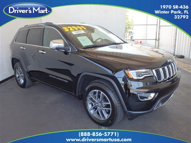 Used 2017 Jeep Grand Cherokee Limited SUV Winter Park