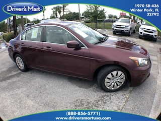 Used Vehicle for sale 2011 Honda Accord 2.4 LX Sedan 1HGCP2F39BA077048 in Winter Park near Sanford FL