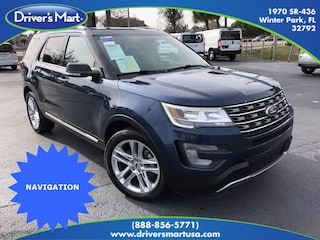 Used Vehicle for sale 2017 Ford Explorer XLT SUV in Winter Park near Sanford FL