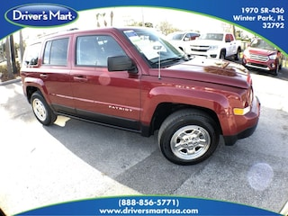 Used Vehicle for sale 2016 Jeep Patriot Sport 4x4 SUV in Winter Park near Sanford FL