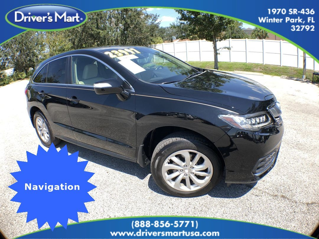 2016 Acura RDX RDX with Technology Package SUV 5J8TB3H58GL019740