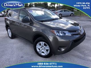 Used Vehicle for sale 2015 Toyota RAV4 LE SUV in Winter Park near Sanford FL