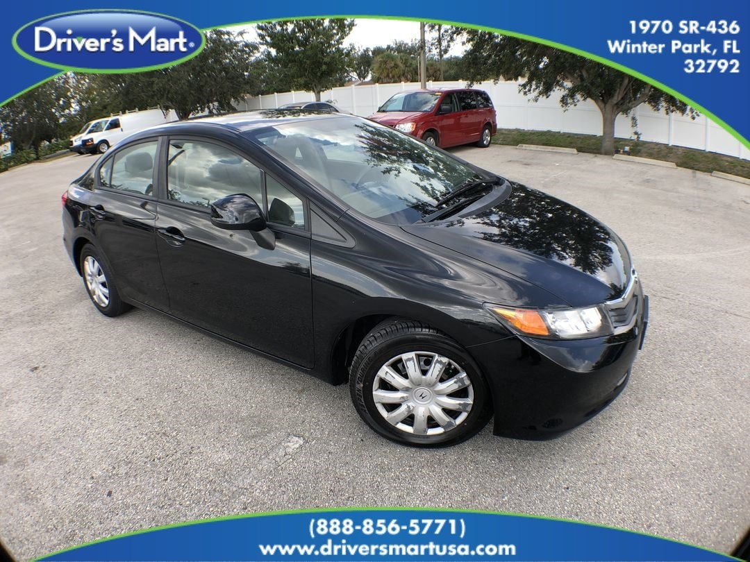 Used 2012 Honda Civic Lx For Sale In Winter Park Fl 1970 Hatchback 19xfb2f59ce081059