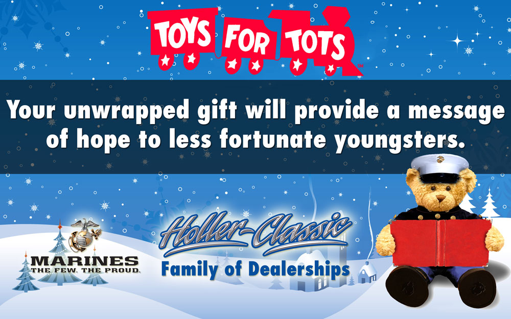 Toys For Tots Rating : Toys for tots holler honda