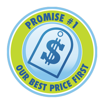 Promise #1: Our Best Price First
