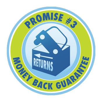 Promise #3: Money Back Guarantee