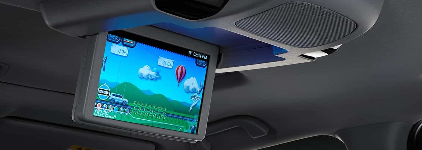 Rear Entertainment System