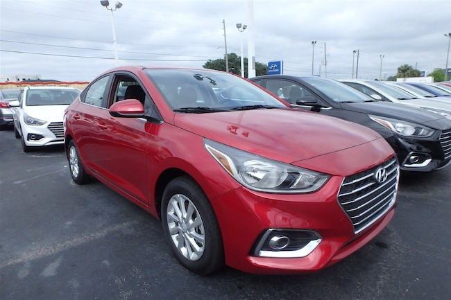 New 2019 Hyundai Accent SEL Sedan For Sale Near Orlando, FL
