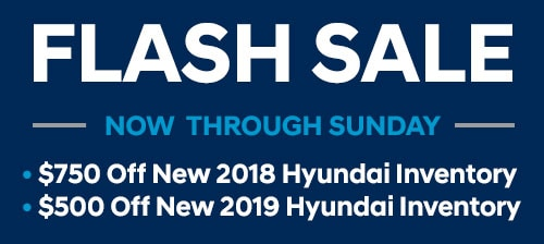 Flash Sale: $750 off 2018 inventory; $500 off 2019 inventory.