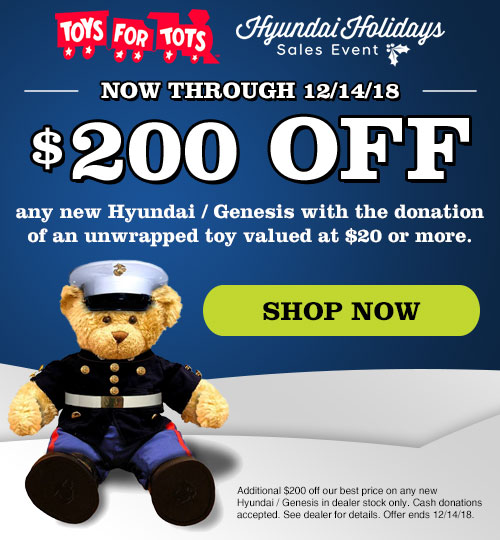 Toys For Tots Introduction : Toys for tots at holler hyundai in orlando fl