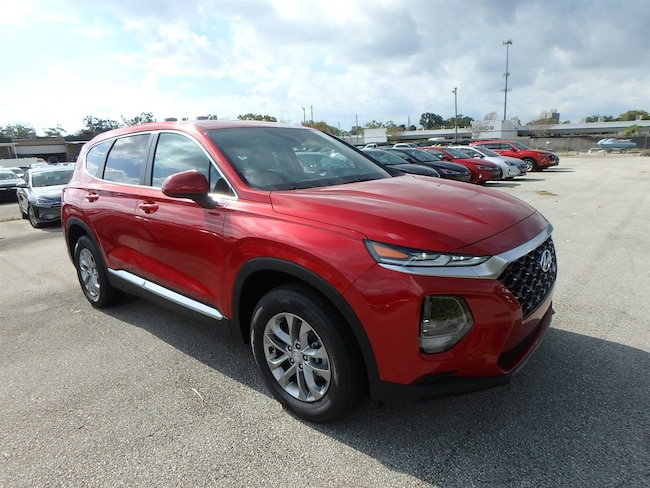 New 2019 Hyundai Santa Fe SE SUV For Sale Near Orlando, FL