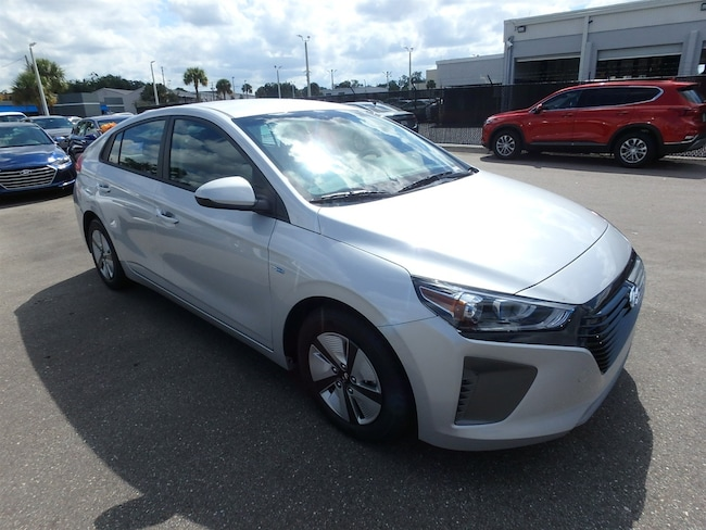 New 2019 Hyundai Ioniq Hybrid Blue Hatchback For Sale Near Orlando, FL