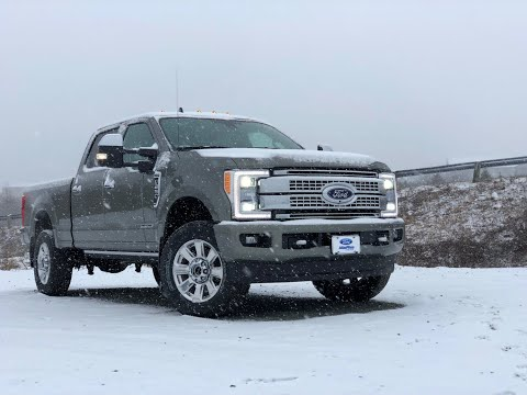 2019 Ford F-250 Trim Selection Platinum