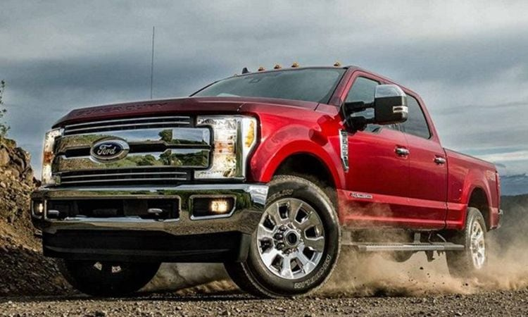 2019 Ford F-250 Performance Features