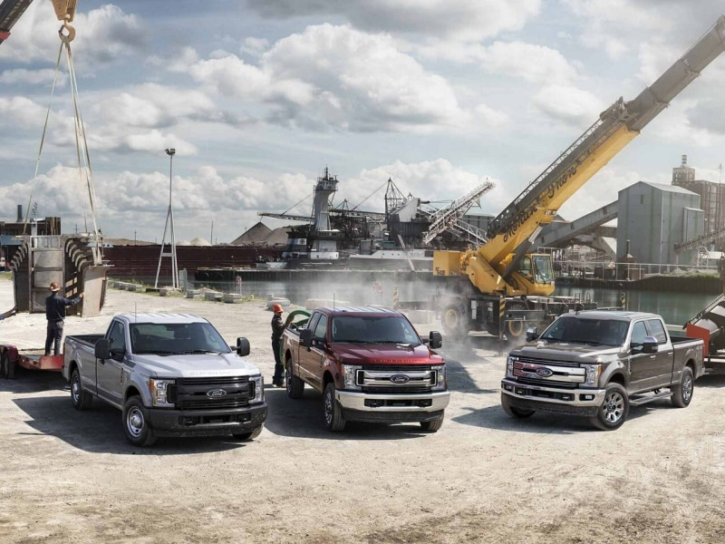 The Ford F-Series pickup trucks available at Hollingsworth Richards Ford in Baton Rouge, LA