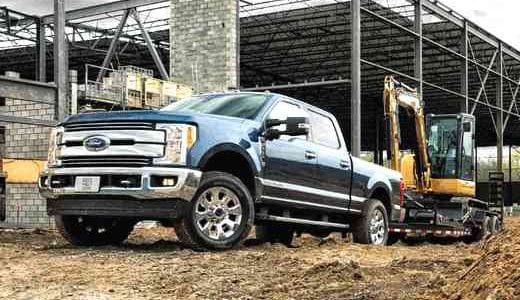 2019 Ford F-250 Trim Selection Limited