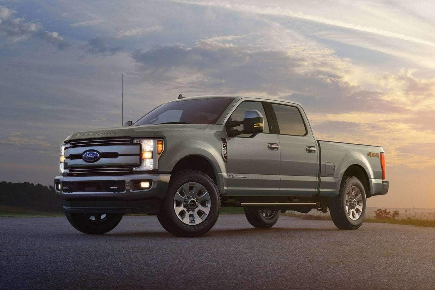 2019 Ford F-250 Interior & Technology Features