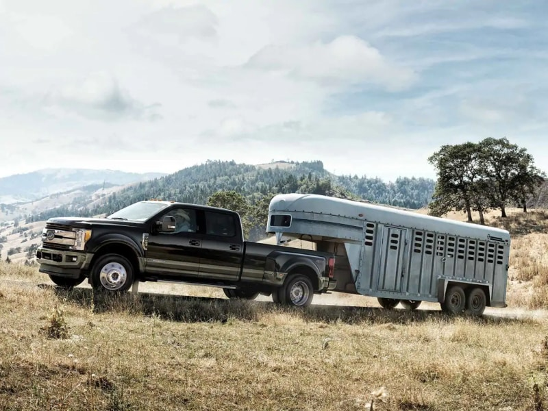 The Ford F-Series pickups can tow any payload
