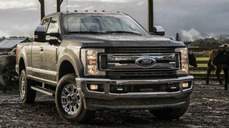 2019 Ford F-250 Safety Features