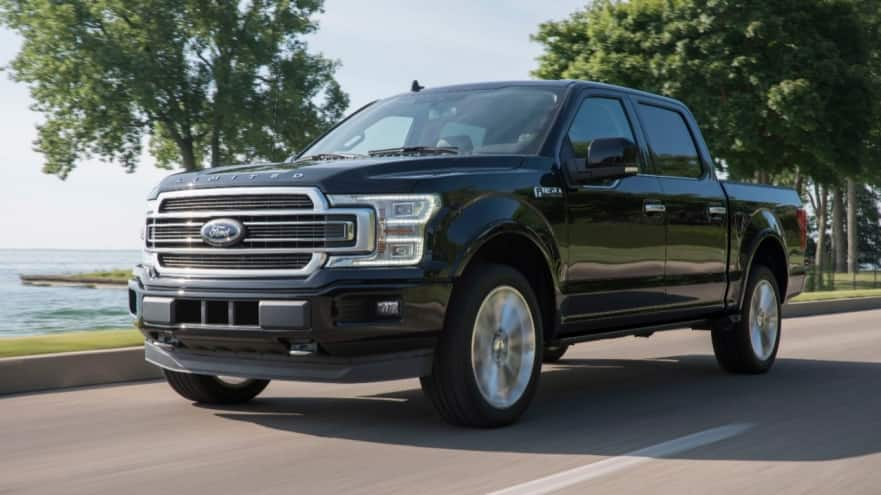 2019 Ford F-150 Trim Selection Limited