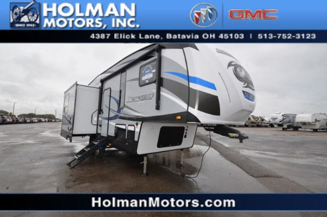 2018 Forest River Tt Arctic Wolf 285DRL4 Fifth Wheel Rear Living