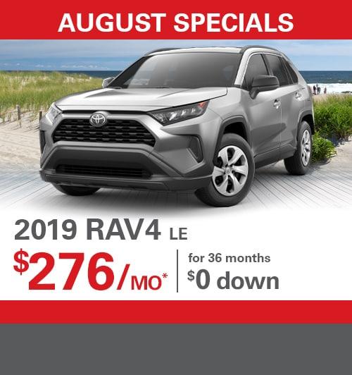 New Vehicle Specials | Holman Toyota