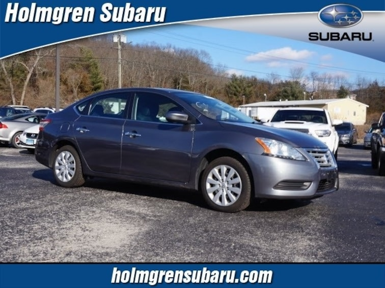 Used 2015 Nissan Sentra S Sedan in North Franklin, CT