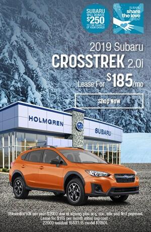 2019 Subaru Crosstrek Lease Offer