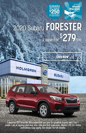 2020 Subaru Forester Lease Offer