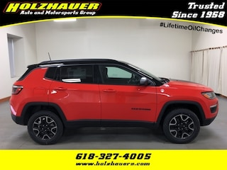 New 2019 Jeep Compass TRAILHAWK 4X4 Sport Utility for sale near O'Fallon