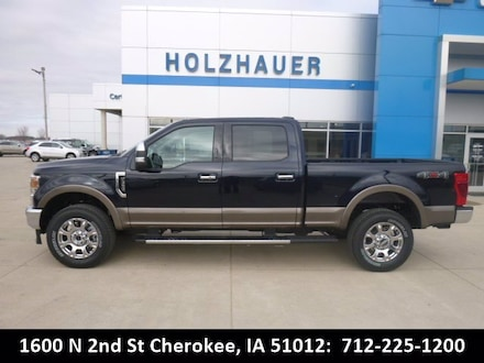 Featured new vehicles 2021 Ford Super Duty F-350 SRW Lariat Truck for sale near you in Cherokee, IA