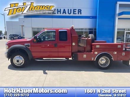 Featured pre-owned vehicles 2008 Ford F-450 Chassis Truck Super Cab for sale near you in Cherokee, IA