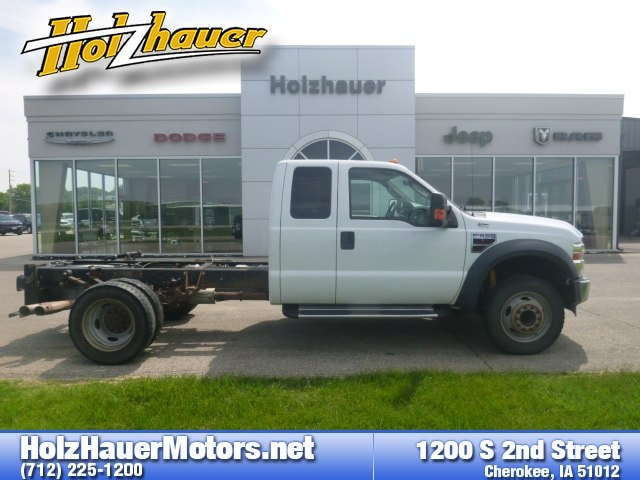 Featured pre-owned vehicles 2009 Ford F-550 Chassis Truck Super Cab for sale near you in Cherokee, IA