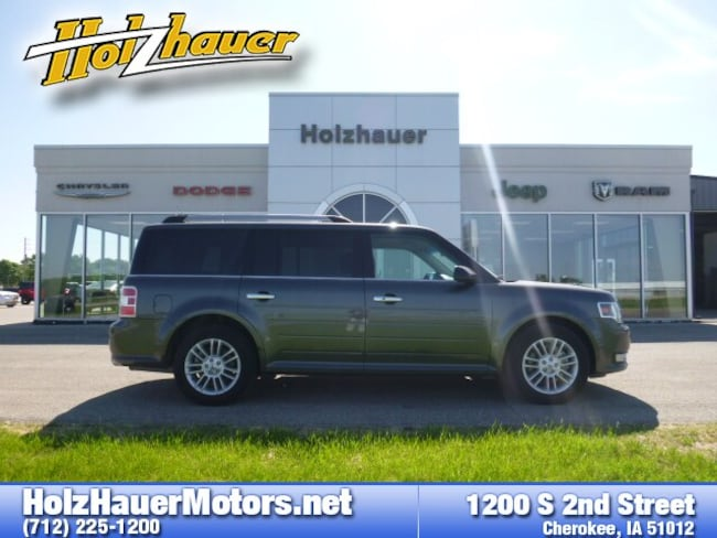 Used vehicles 2018 Ford Flex SEL SUV for sale near you in Cherokee, IA