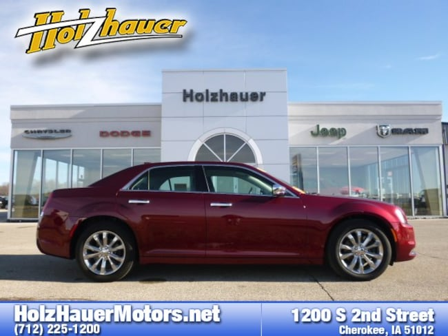 Used vehicles 2018 Chrysler 300 Limited Sedan for sale near you in Cherokee, IA