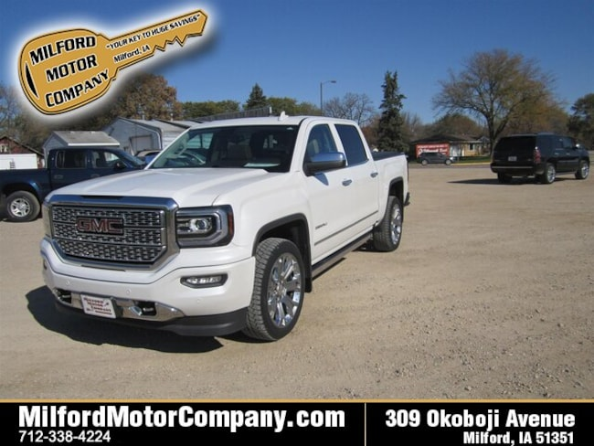 Used vehicles 2017 GMC Sierra 1500 Denali Truck Crew Cab for sale near you in Cherokee, IA
