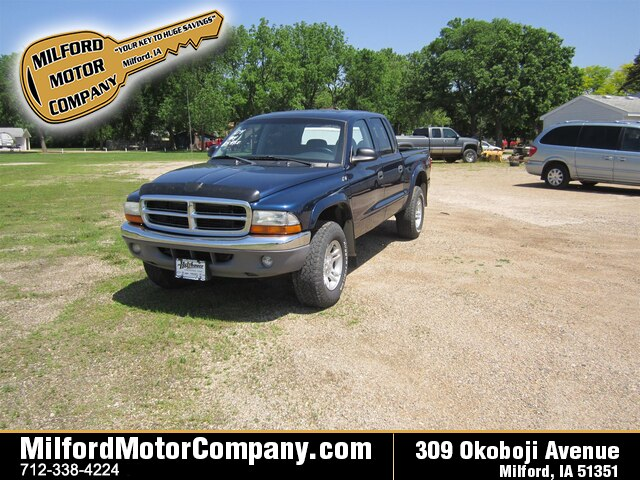 Featured pre-owned vehicles 2004 Dodge Dakota SLT Truck Quad Cab for sale near you in Cherokee, IA