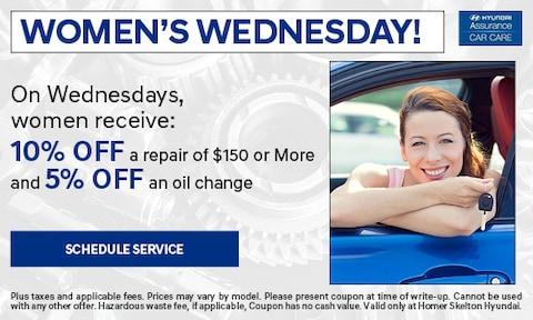 Women's Wednesday!