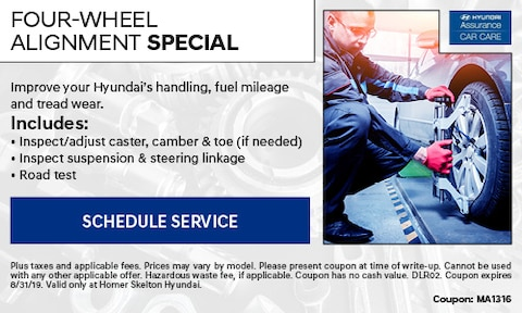 Four-Wheel Alignment Special