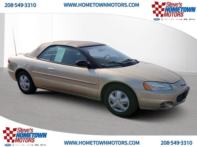 2001 Chrysler Sebring LX Convertible